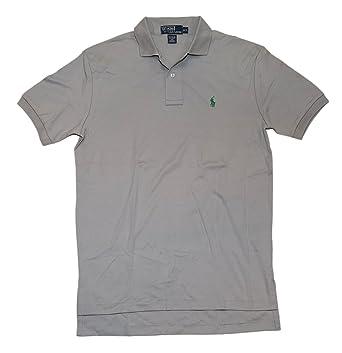 240a9b48 Ralph Lauren Polo Mens Pullover Interlock Casual Shirt Light Grey Green  Small