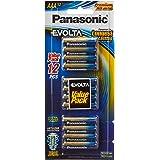 Panasonic AAA Blister Pack Alkaline Batteries, 1.5V, 12ct