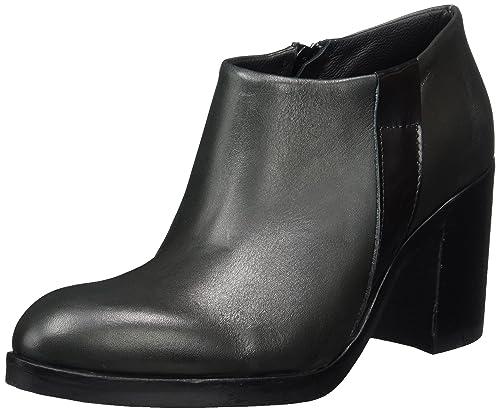 Wildleder 27-48934, Chelsea Boots Femme, Noir (Black 10), 40 EUBianco