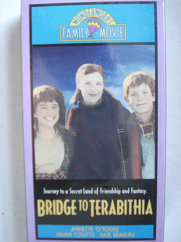 Amazon Com Bridge To Terabithia Vhs Paterson Katherine
