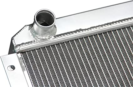 ZC180 3 Rows All Aluminum Radiator Fit 1970-80 Toyota Land Cruiser 3.9L//4.2L L6 GAS