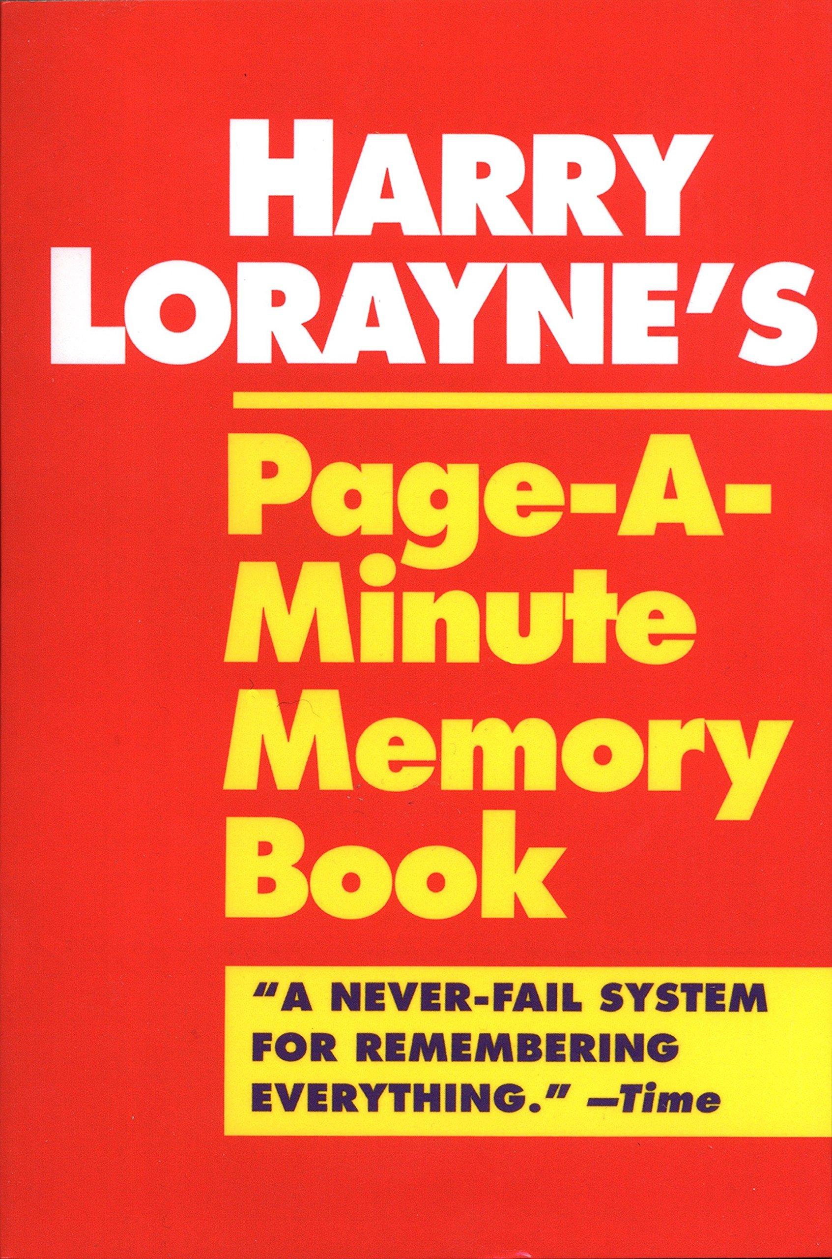 Harry Lorayne Books Pdf
