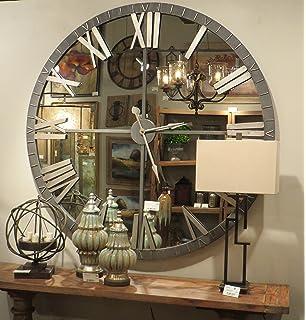 Amazoncom Uttermost 06419 6419 Amelie Bronze Wall Clock Large