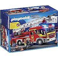 Playmobil 5362 - Jeu De Construction - Camion Pompiers + Echelle