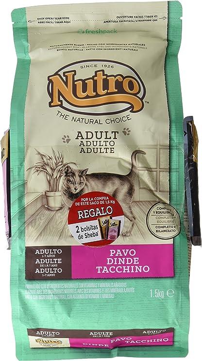 NUTRO - Pienso para Gatos Adultos Adult Pavo: Amazon.es: Productos para mascotas