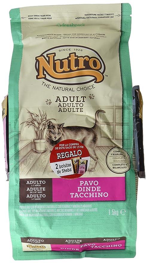 The Nutro Company Nutro - Pienso para gatos adultos adult pavo