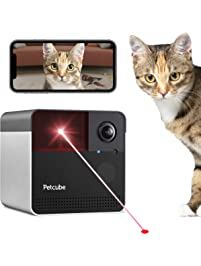 Petcube Play 2 Wi-Fi Pet Camera with Laser Toy & Alexa Built-In, for Cats & Dogs. 1080P HD Video, 160° Full-Room View, 2...