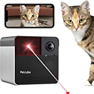 [New 2019] Petcube Play 2 Wi-Fi Pet Camera with Laser Toy & Alexa Built-In, for Cats & Dogs. 1080P HD Video, 160° Full-Room V