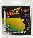 Thomastik-Infeld BB113 Jazz Guitar Strings: Jazz Bebop Series 6 String Set - Pure Nickel Round Wounds E, B, G, D, A, E Set