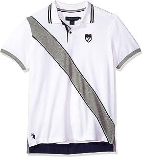 U S Polo Assn Men S Short Sleeve Slim Fit Solid Pique Shirt At