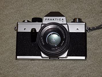 Praktica nova camera with ob domiplan praktica l body