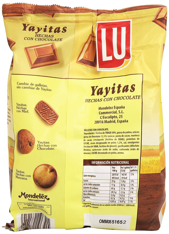 Lu Yayitas Galletas con Chocolate - 250 g: Amazon.es: Amazon Pantry