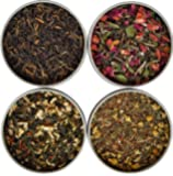 Heavenly Tea Leaves Tea Sampler Gift Set, 4 Bestselling Cans