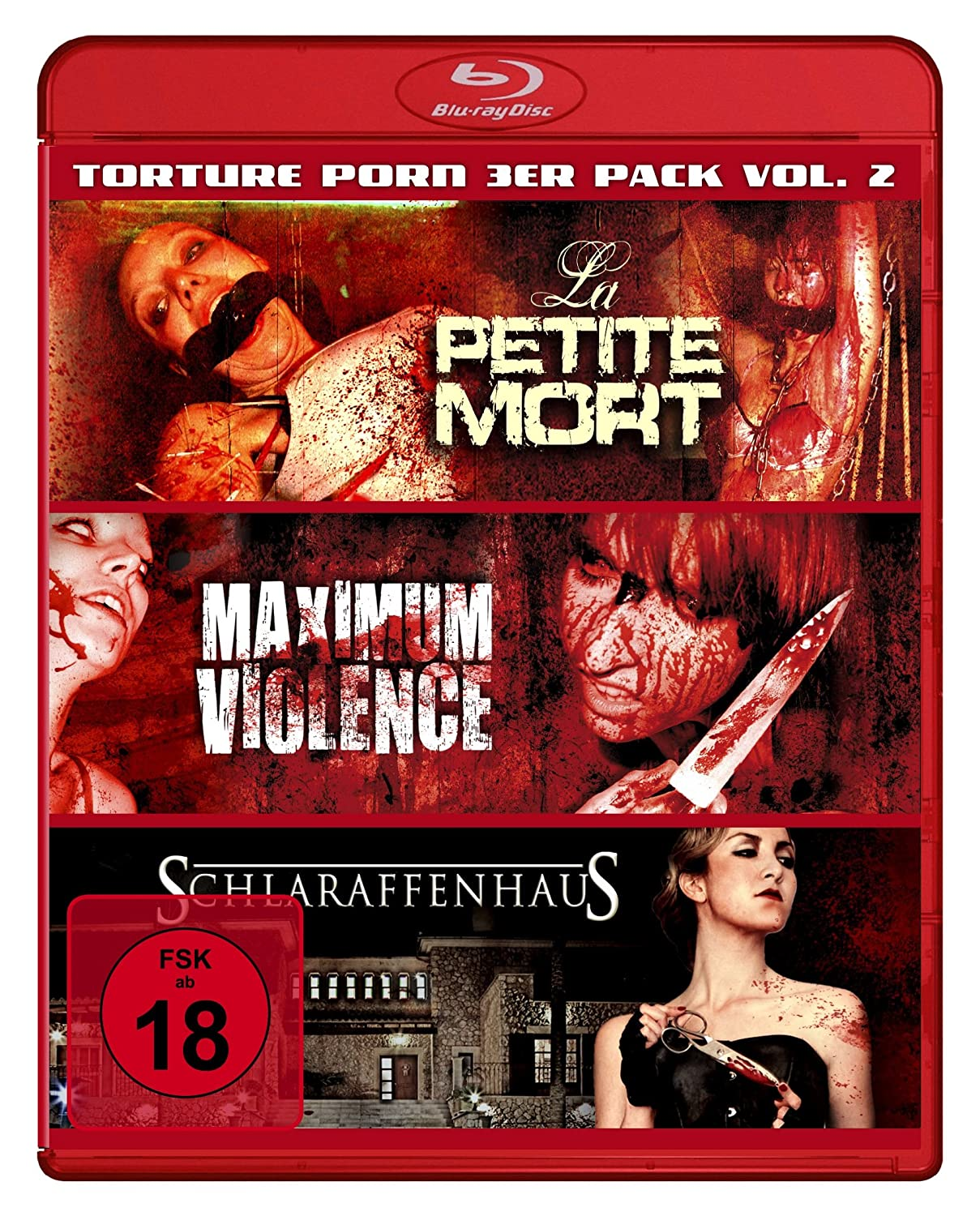 Amazon.com: Torture Porn Vol.2 3er Pack:Petite Mort/Maximum ...