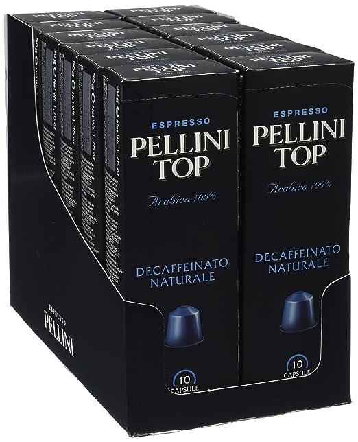 60 opinioni per Pellini Top Arabica Decaffeinato Naturale (12 astucci da 10 capsule- totale 120
