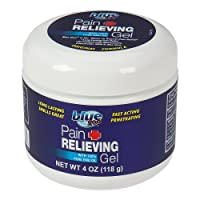 BLUE GOO PAIN RELIEVING GEL, 4 Ounce, Fast Acting, Cooling/Soothing Relief, for...