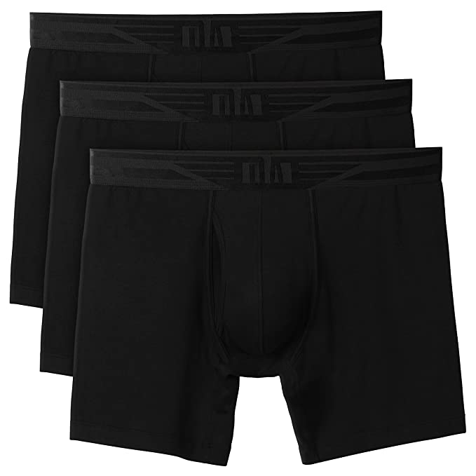 Pack of 6 Mens Ultra Stretch Fit Fashion Boxer Trunks//Shorts
