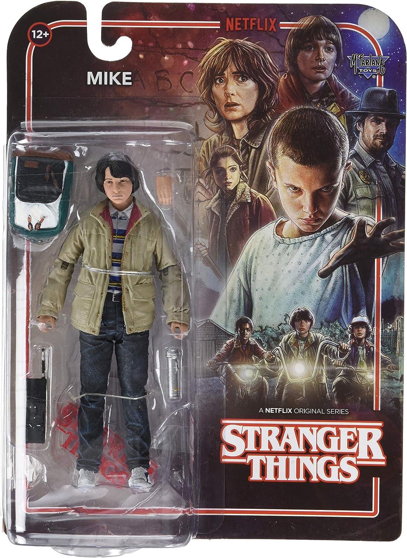 McFarlane- Stranger Things Figura Mike, Multicolor (13029): Amazon.es: Juguetes y juegos
