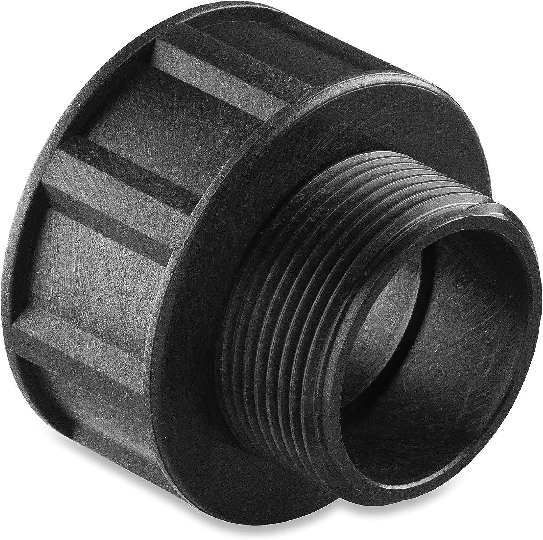 Abrisa Adaptador Universal para bidones, Negro, 1
