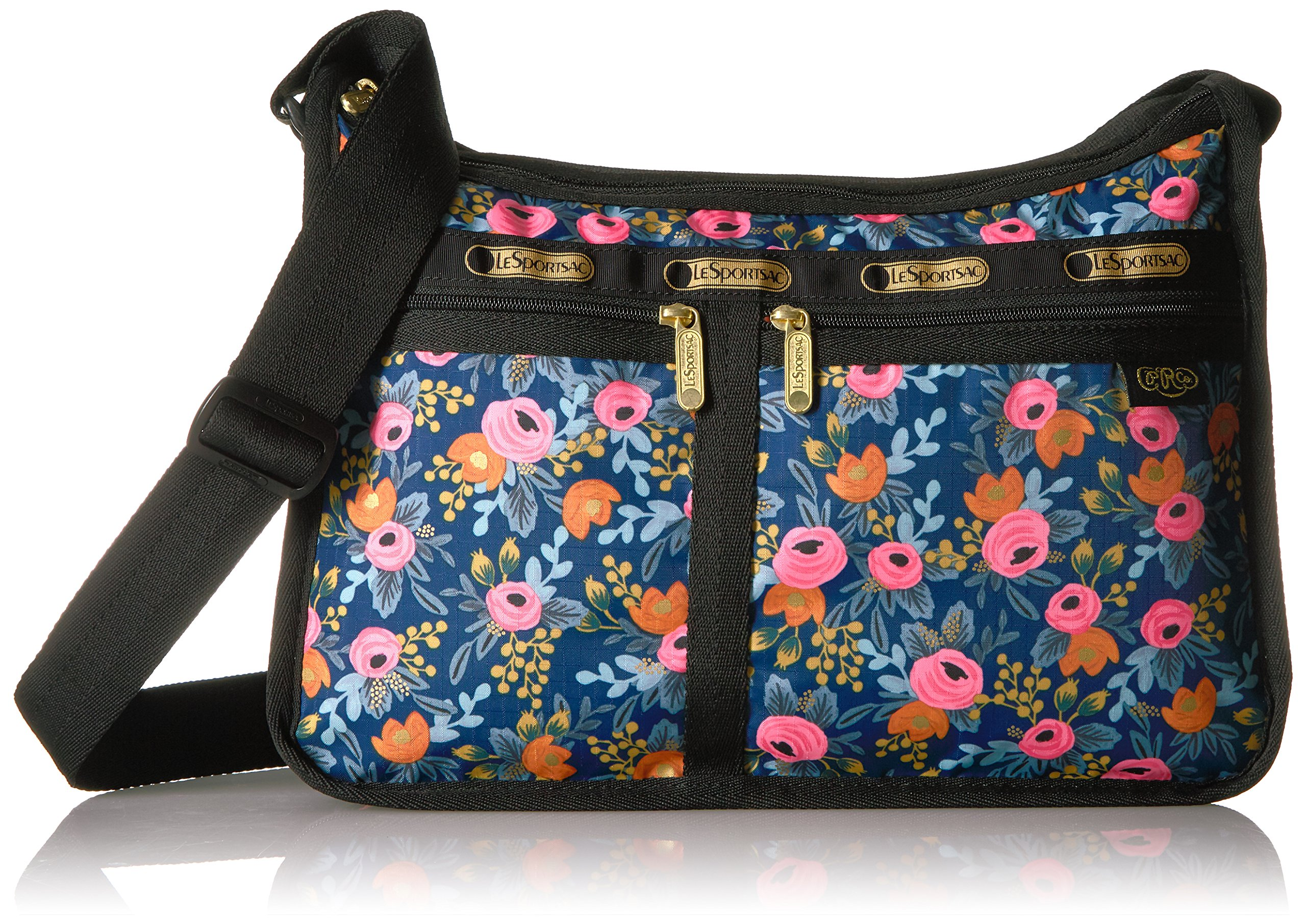 LeSportsac Rifle Paper X Deluxe Everyday Bag, Rosa