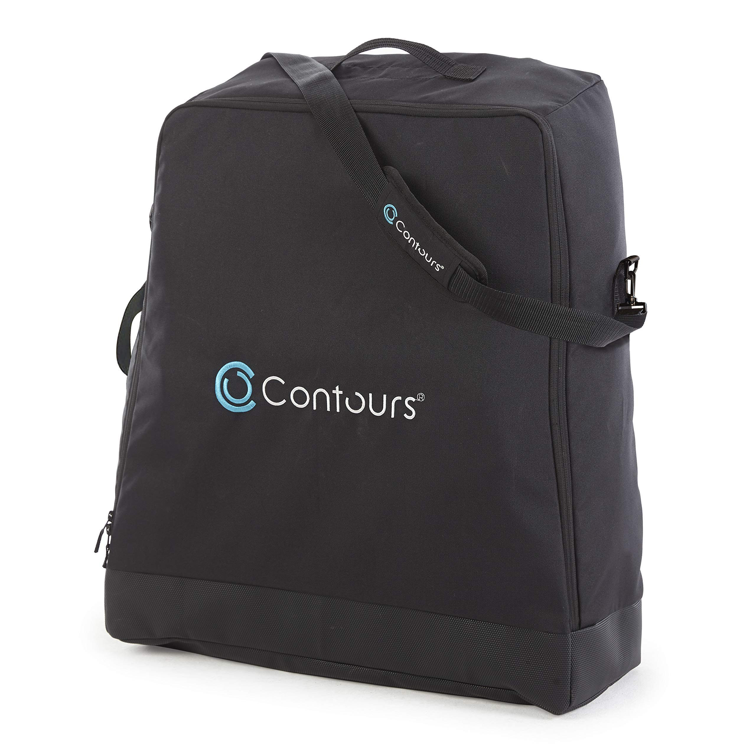 Contours Bitsy Compact Fold Lightweight Stroller Travel Bag, Black by Contours