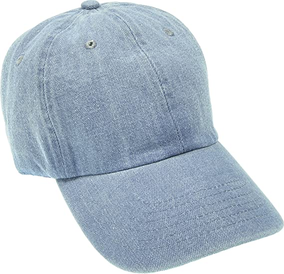 Hand By Hand Aprileo Denim Cap Dyed Washed Cotton Hat Baseball Ball Cap  Polo  01 56d53d384b73