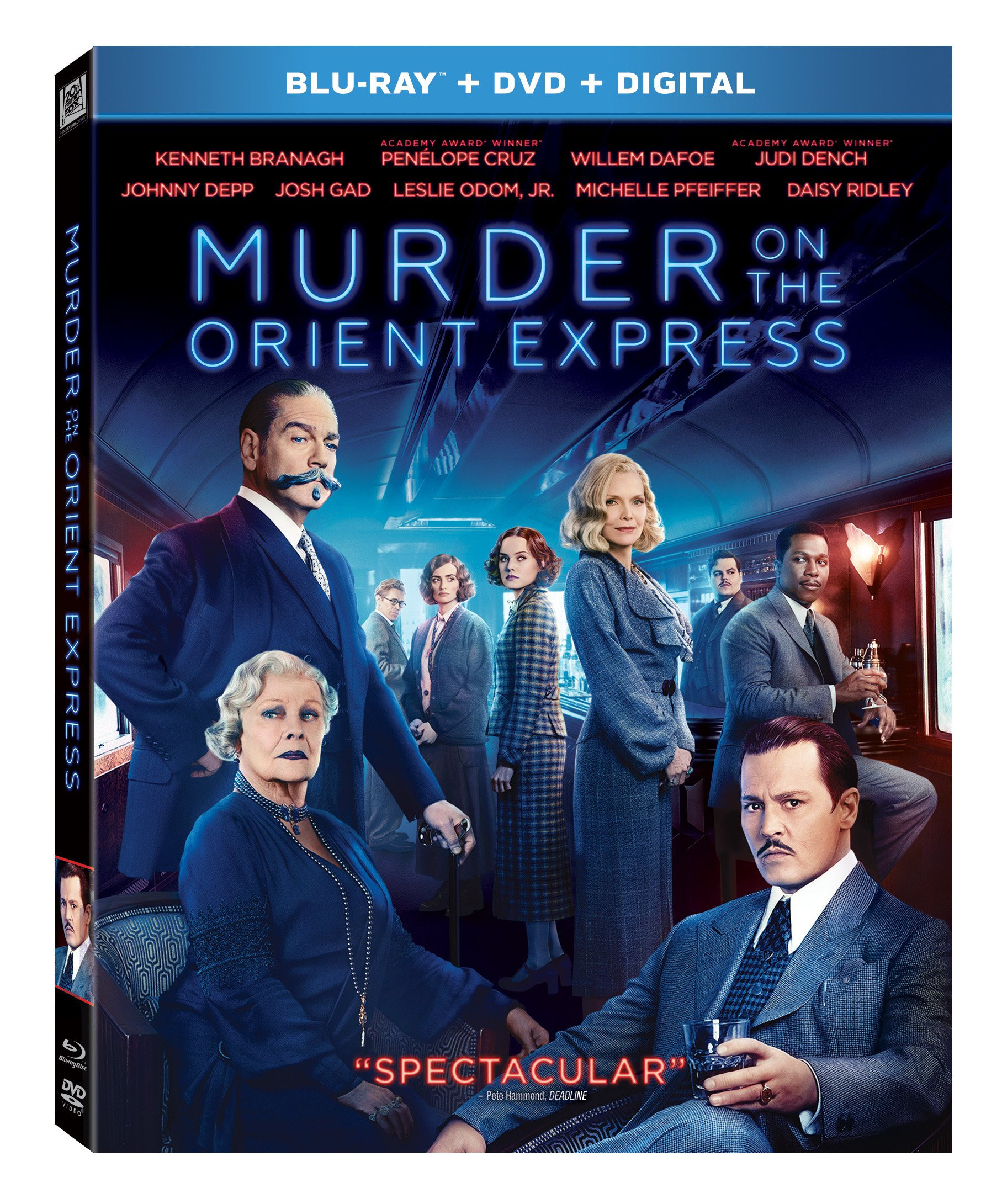 Blu-ray : Murder on the Orient Express (With DVD, Digital Copy, 2 Disc)