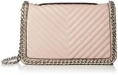 28a61070054 ALDO Womens Greenwald Cross-Body Bag Light Pink 55  Amazon.co.uk ...