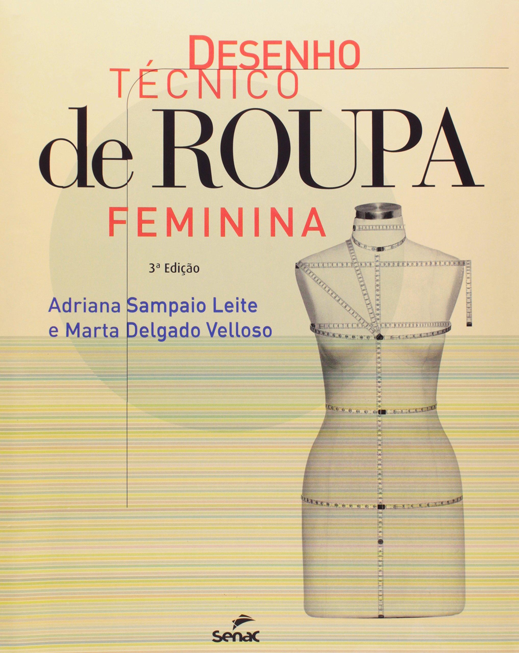 Desenho Técnico De Roupa Feminina (Em Portuguese do Brasil) pdf epub