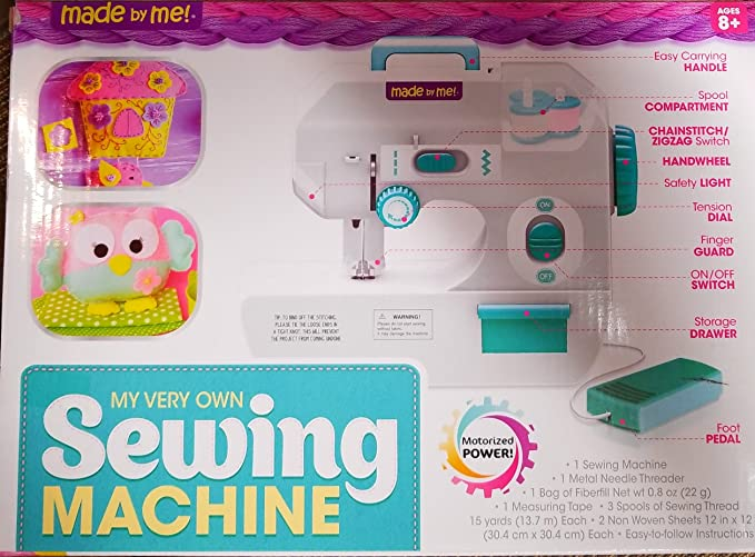 Amazon My Very Own Kids Sewing Machine Kit Easy To Use And Delectable Made By Me Sewing Machine