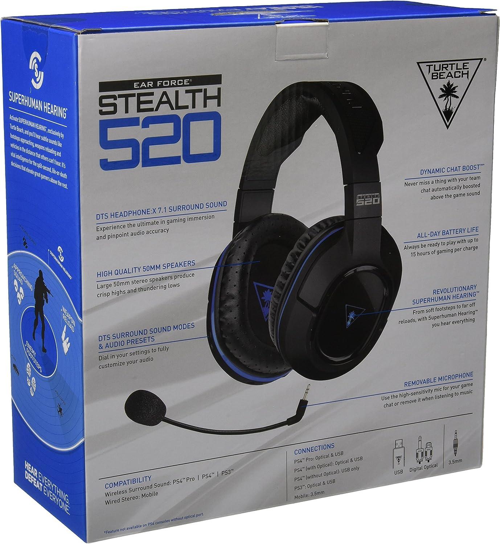 Amazon.com: Turtle Beach - Stealth 520 Premium Fully Wireless Gaming ...