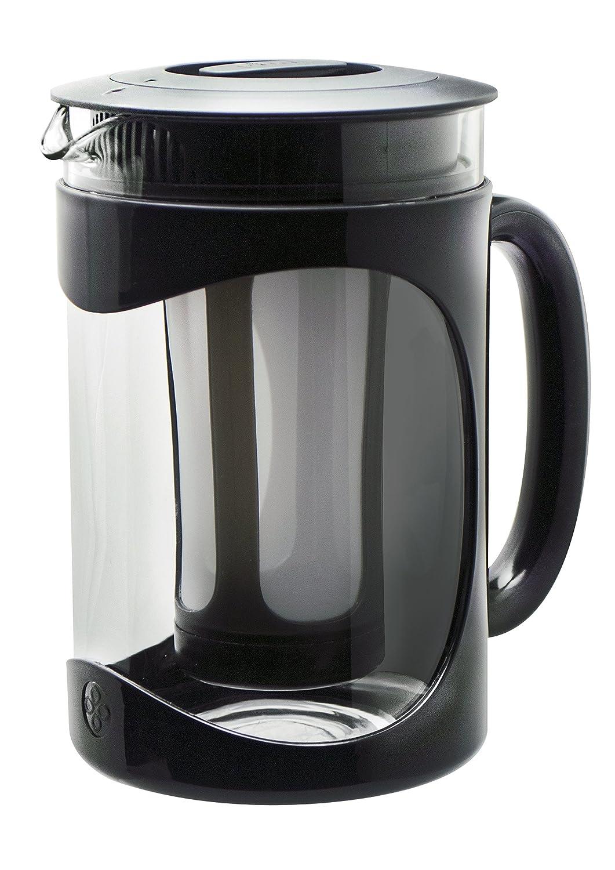 Primula Burke Cold Brew Iced Coffee Maker - Glass Carafe 1.6 Qt (51.2 oz), Black PBPBK-5101