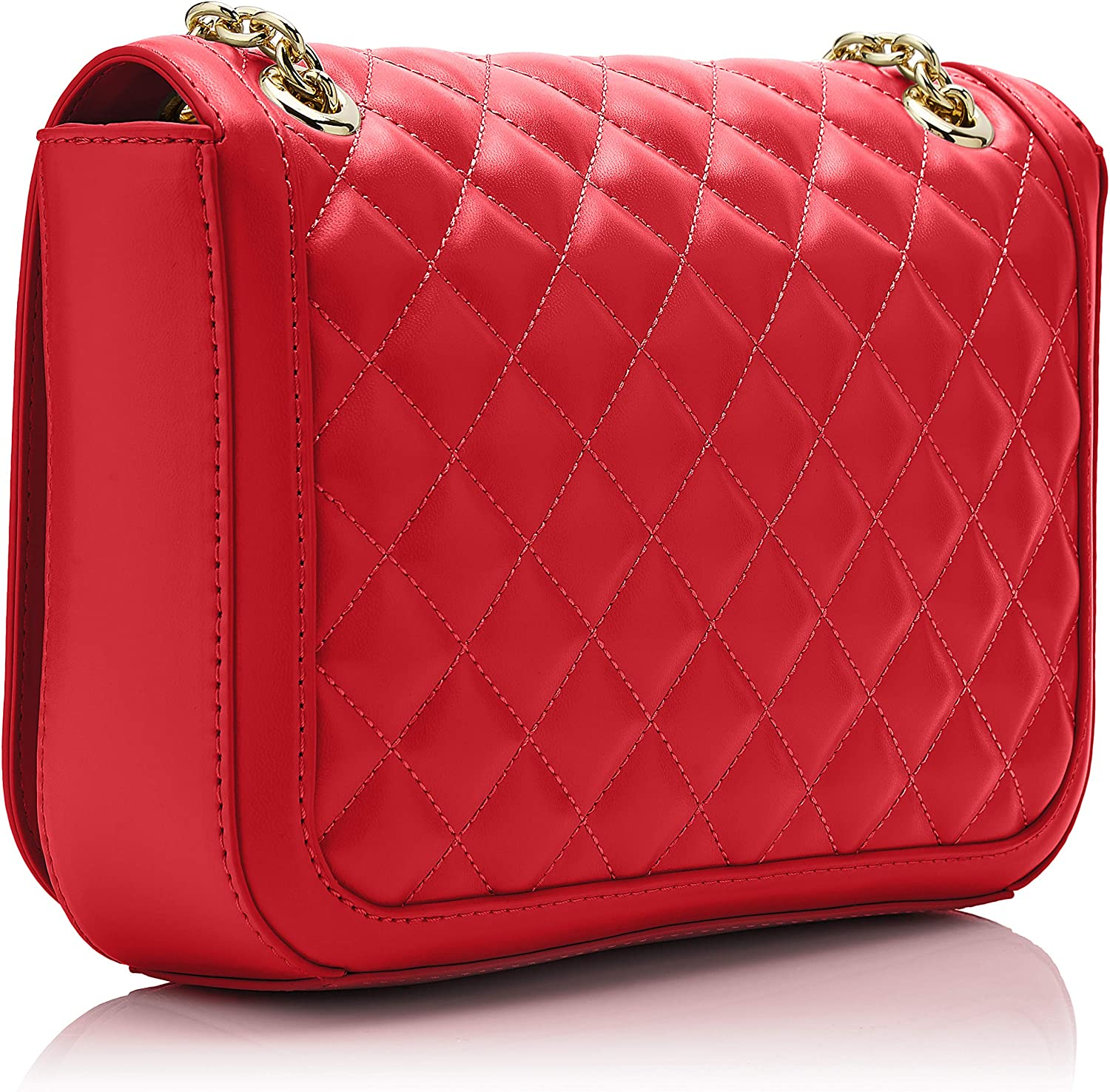 Love Moschino Womens Quilted Nappa Pu Shoulder Bag