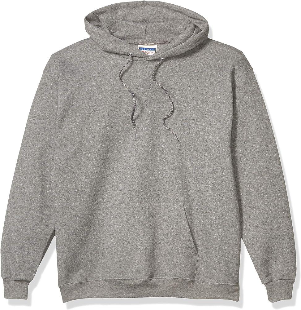 Hanes - Sudadera con capucha para hombre (algodón pesado) - Gris ...
