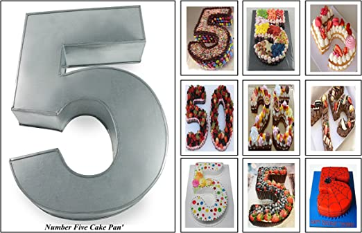 Prime Amazon Com Euro Tins Numeric Cake Pan 35Cm Birthday Cake Tin Personalised Birthday Cards Cominlily Jamesorg
