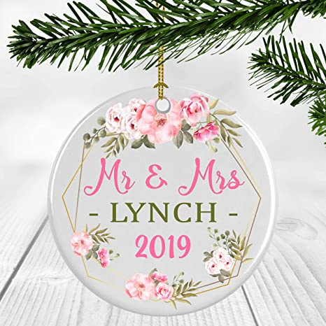 First Christmas Married Ornament 2019 Amazon.com: 1st Christmas Married Ornament 2019   First Christmas