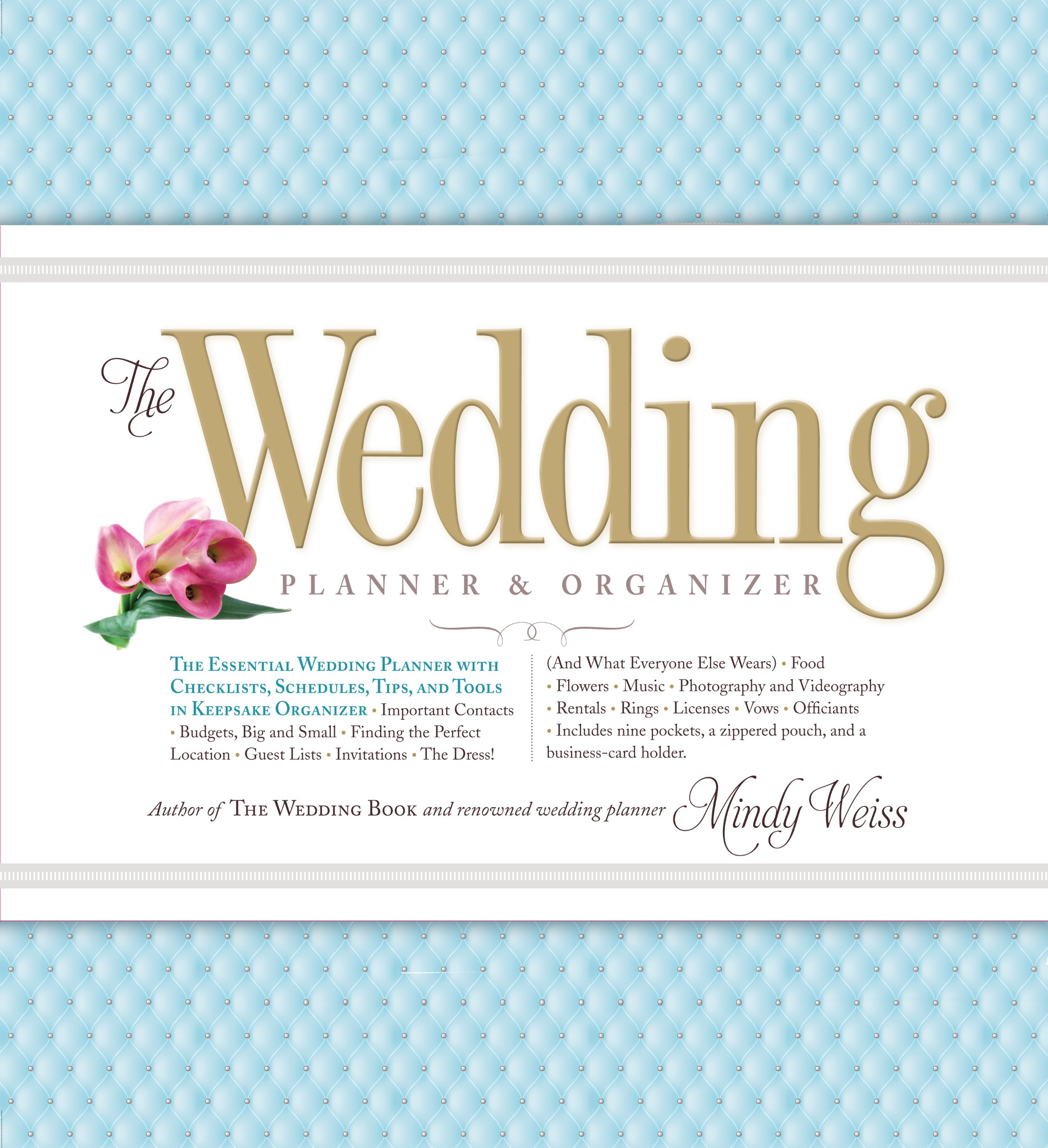 The wedding planner organizer mindy weiss 9780761165972 amazon the wedding planner organizer mindy weiss 9780761165972 amazon books solutioingenieria Image collections