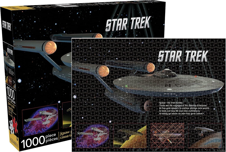 Enterprise Puzzle Aquarius Star Trek