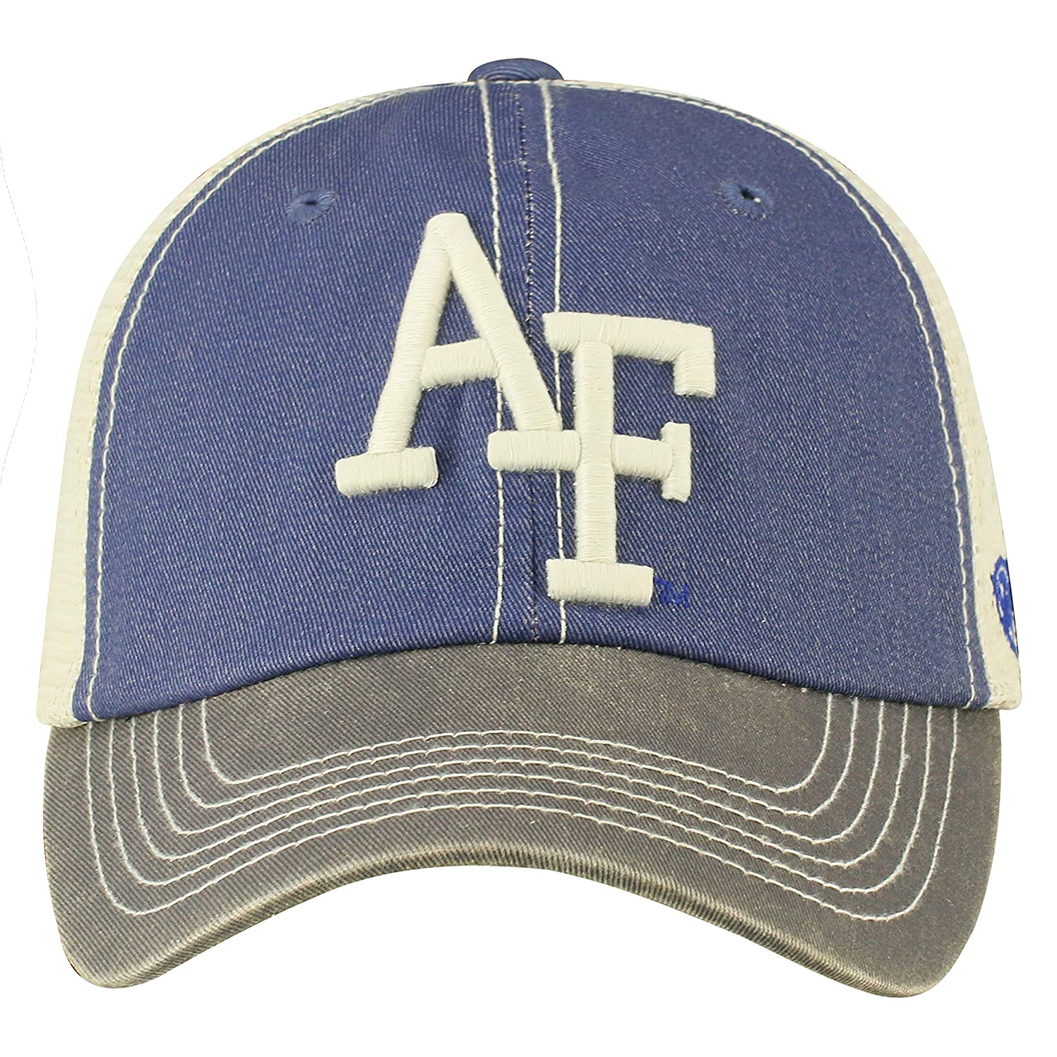 half off 50654 ebaf8 Amazon.com   Top of the World Adult Unisex s Offroad Snapback Mesh Back Adjustable  Hat, Air Force Falcons Royal, One Size   Clothing