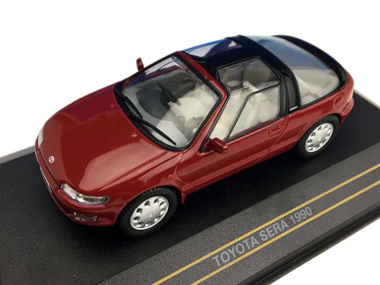 1/43 トヨタ セラ 1990 レッド 完成品