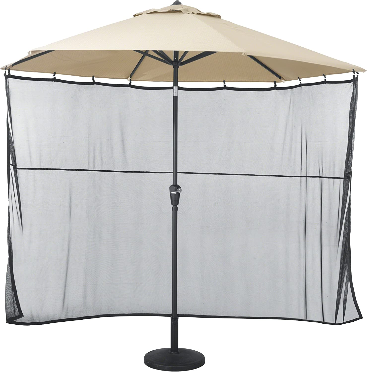 Classic Accessories Water-Resistant 68 Inch Universal Patio Umbrella Shade Screen