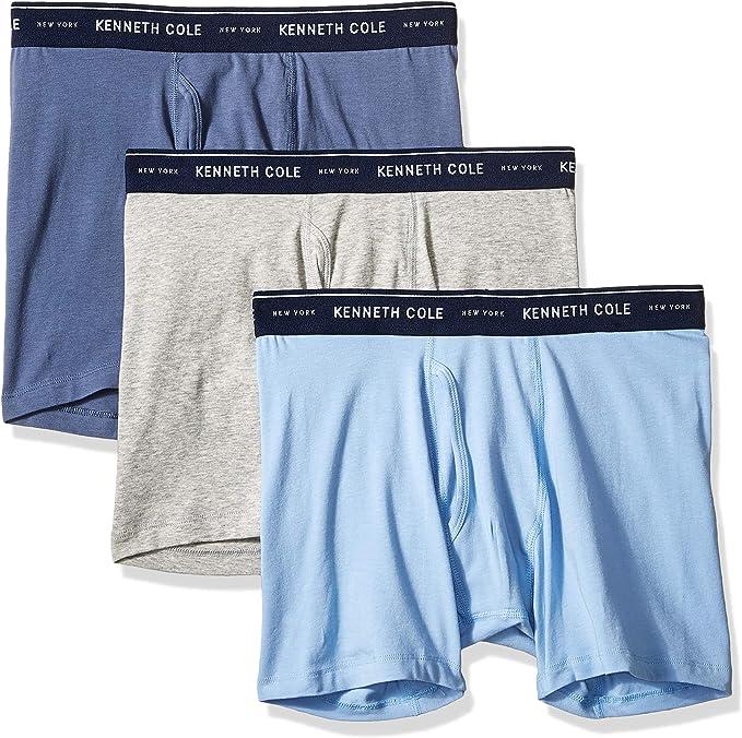 New York Men/'s Boxer Briefs Pink Blaze $24 Kenneth Cole RN31085