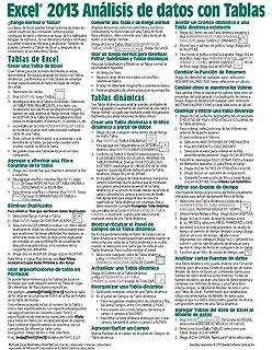 Microsoft Excel 2013 Análisis de datos con Tablas Guía de referencia rápida (Hoja de referencia
