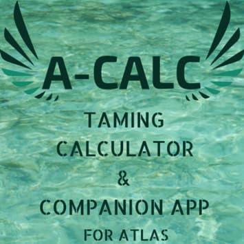 Amazon com: A-Calc Taming & Companion Tools for Atlas Pirate