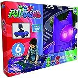 Pjmasks Mega PlayMat with Vehicle (6 Piece) (Pack of 7), Multicolor