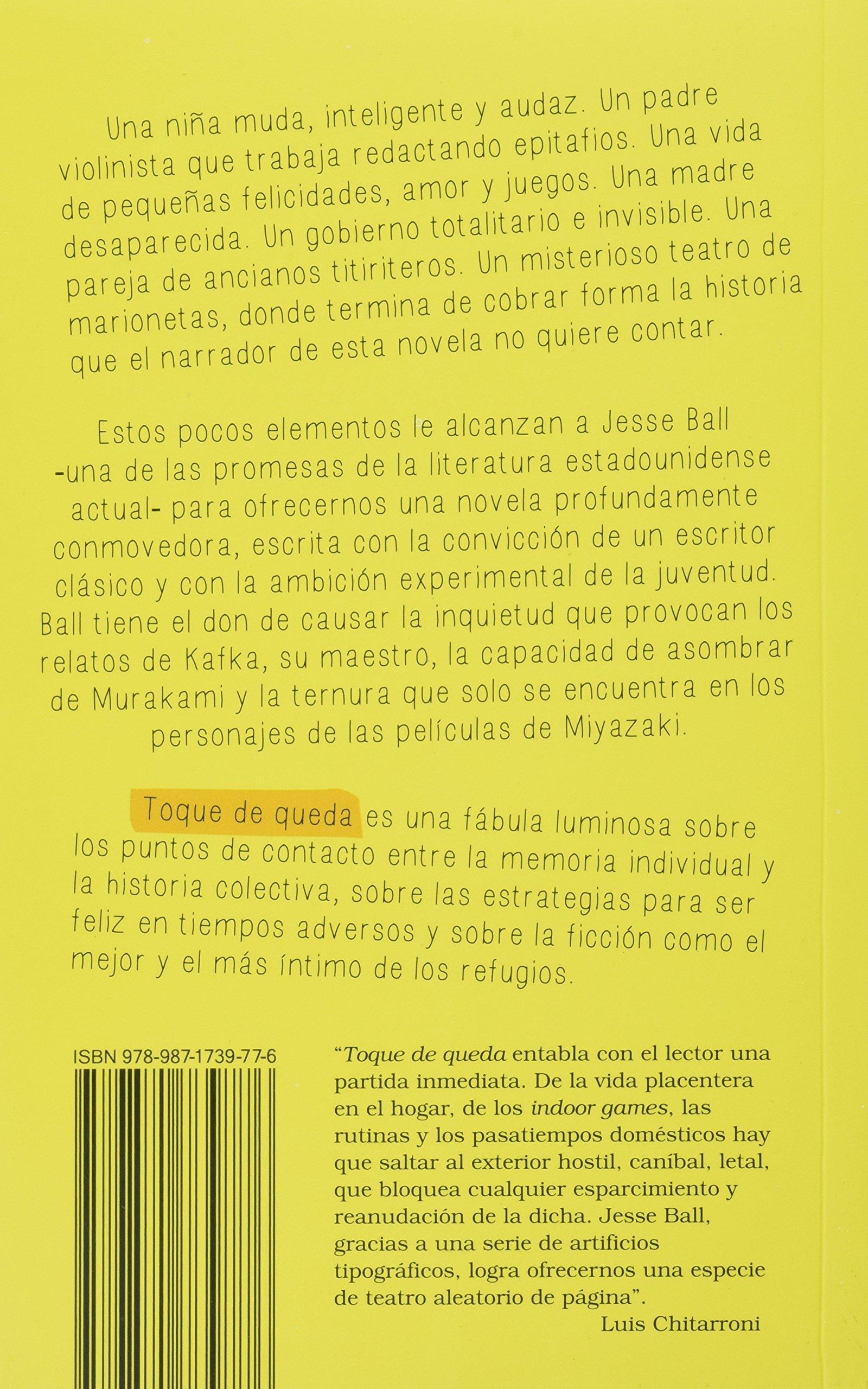 Toque de queda: Amazon.es: Jesse Ball: Libros