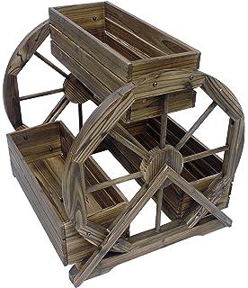 Leigh Country TX 93968 Wagon Wheel Outdoor Planter