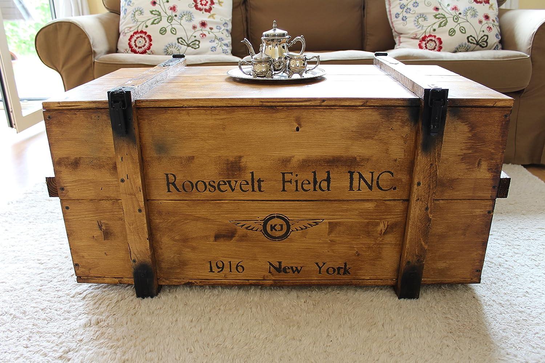 'Uncle Joe' s 75761baúl Mesa Caja de Madera