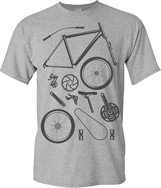 Cycling Evolution Womens Funny T-Shirt Cyclist Bike Bicycle MTB BMX Racer Road