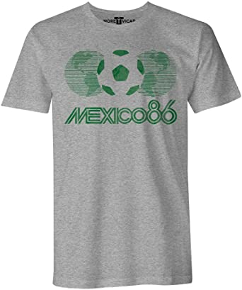 Cup T 86 World Shirt Herren Mexico Vintage More Vicar Football OPkXiZuT